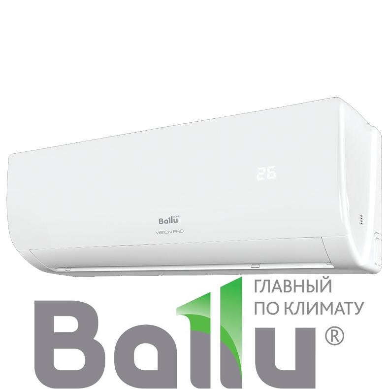 Настенный кондиционер Ballu BSVP-09HN1 серия VISION PRO со склада в Симферополе, для площади до 27м2. Официальный дилер!