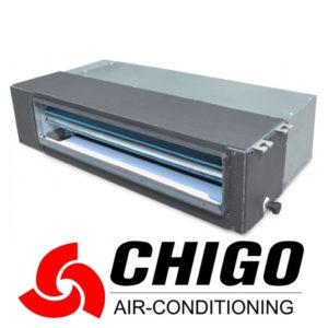 Канальный кондиционер Chigo CTA-24HVR1 / COU-24HDR1 со склада в Симферополе, для площади до 70 м2. Официальный дилер!