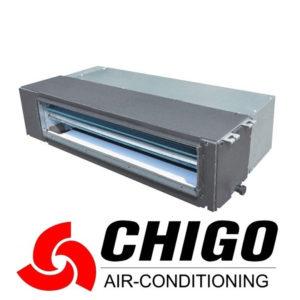 Канальный кондиционер Chigo CTAC-18HR1 / COU-18HMR1 со склада в Симферополе, для площади до 50 м2. Официальный дилер!