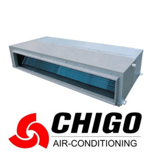 Канальный кондиционер Chigo CTB-48HVR1 / COU-48HDSR1 со склада в Симферополе, для площади до 140 м2. Официальный дилер!