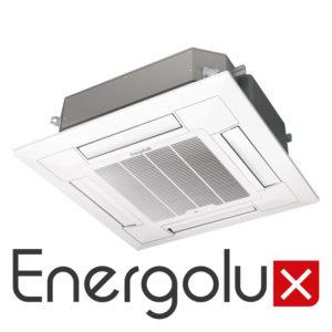 Кассетный кондиционер Energolux SAC12C2-A SCP13A2 SAU12U2-A со склада в Симферополе, серия Cassete для площади до 25 м2. Официальный дилер!